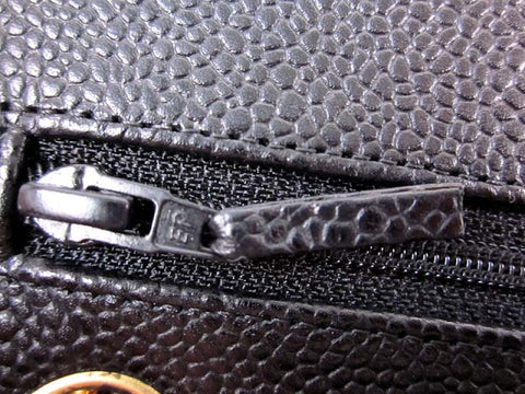 Chanel zipper authentication