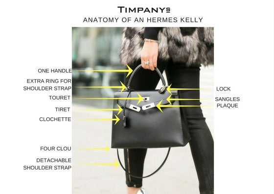 Hermes Kelly Anatomy