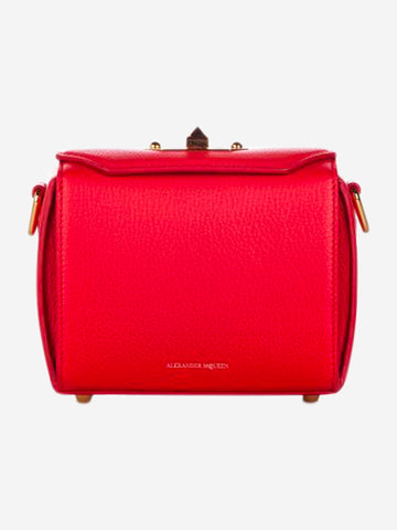 Red Box 16 leather cross body bag