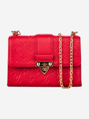 Red Monogram Empreinte Saint Sulpice BB cross body bag