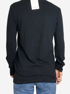 Rag & Bone Jean Black long sleeve top - size M