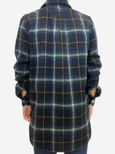 Load image into Gallery viewer, Navy & green plaid shirt - size IT 40