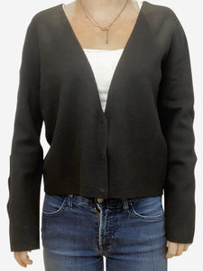 Strenesse Black Cardigan - size UK 14