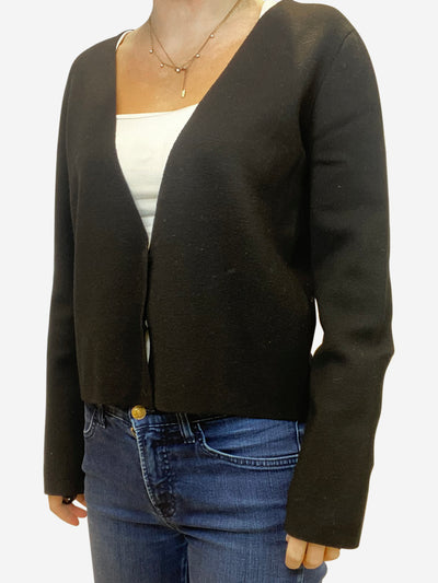Black Cardigan - size UK 14