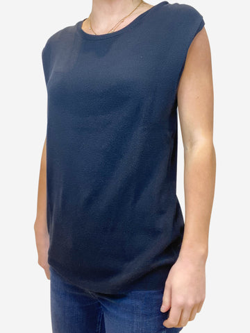 Navy vest - size IT 42