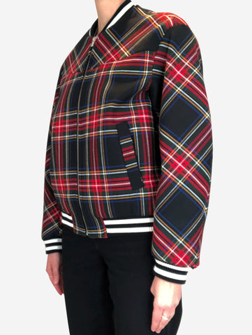 Red, green and black Maje Jacket, 6