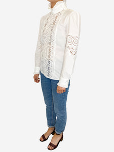 Weekend Max Mara White Weekend Max Mara Blouse, S