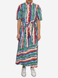 Chinti & Parker White & Multi Chinti & Parker Dresses, 6