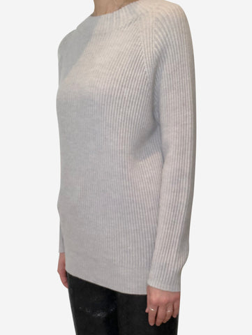 Light grey Max Mara Sweaters, M