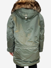 Load image into Gallery viewer, green Celine Coats, XS