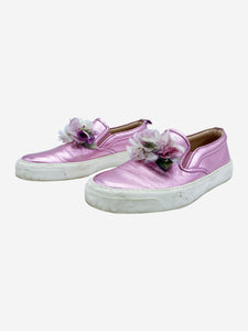 Gucci Pink Gucci Shoes, 4.5
