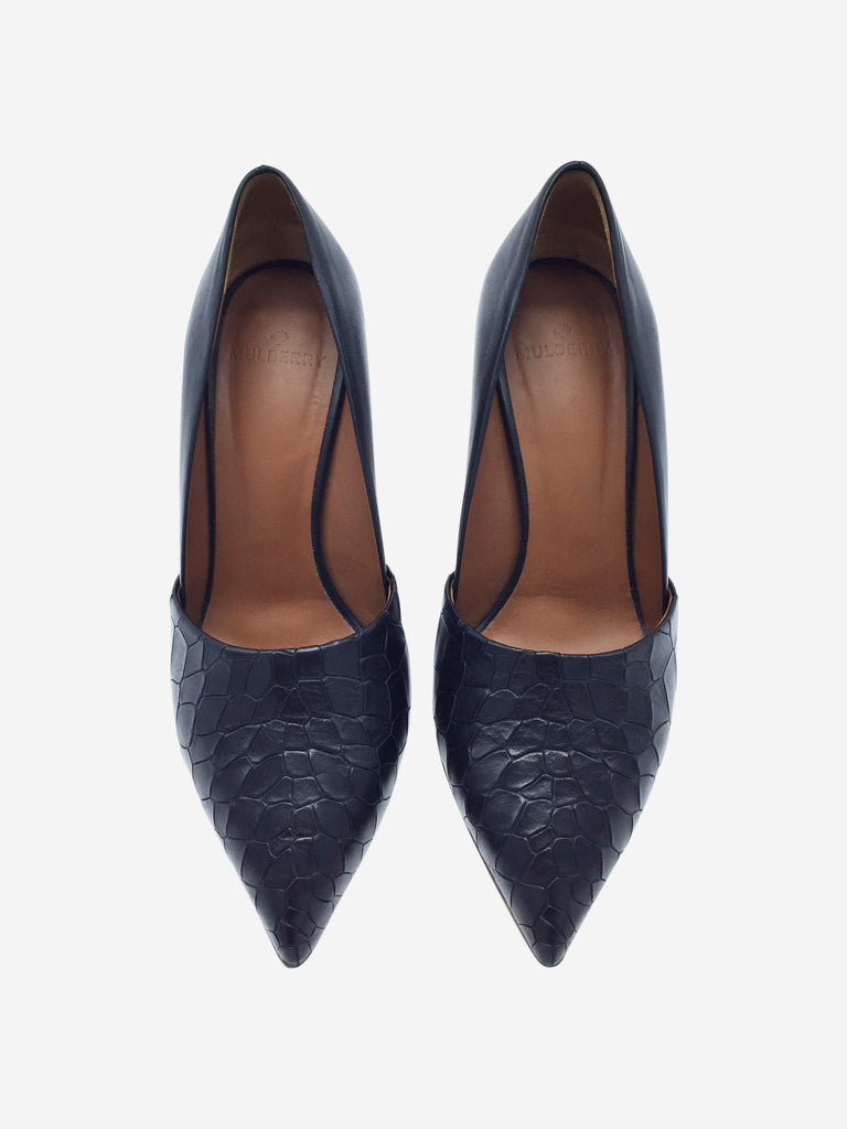 Mulberry Black High Heel Pump Size 4 RRP Approx £400 Mulberry - Timpanys