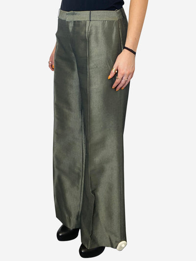 Olive Green Gucci Trousers, 14