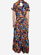 Load image into Gallery viewer, Mustard, red and blue La Double J Dresses, 8