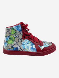 Gucci Red & Multi Gucci Shoes, 3