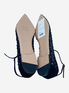 Gianvito Rossi Black Gianvito Rossi Shoes, 3.5