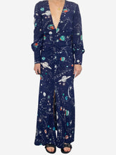 Load image into Gallery viewer, Navy Rixo Dresses, S