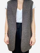 Load image into Gallery viewer, Brown and Burgundy Loro Piana Gilet, L