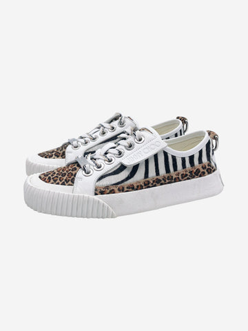 Impala animal print trainers - size EU 35