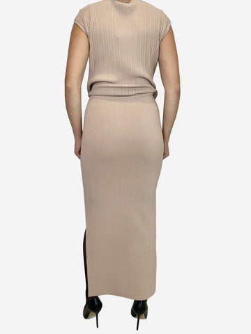 Pleats Please Issey Miyake Maxi Dress Size S RRP £390