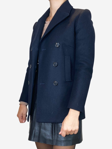 Navy  Joseph Short Coats, 8