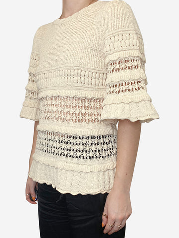 Cream Isabel Marant Blouse, 8