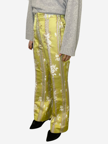 Yellow gucci Trousers, 14