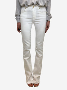 7 For All Mankind White bootcut jeans - waist 27