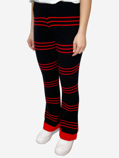 Black & Red Madeleine Thompson Trousers, s