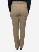 Load image into Gallery viewer, Beige tailored trousers- size UK 10