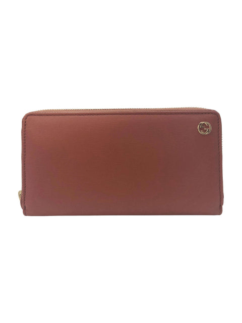 Gucci Brown Leather Wallet RRP: £400 Gucci - Timpanys