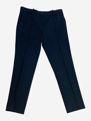 Black tailored trousers - size UK 8