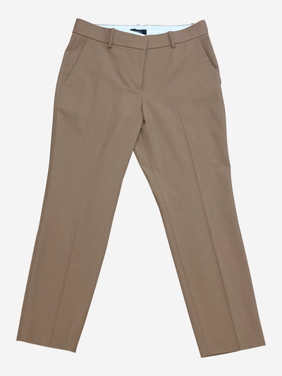 Camel tailored trousers - size UK 10