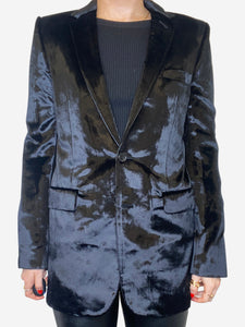 Saint Laurent Black Velvet formal blazer - size S