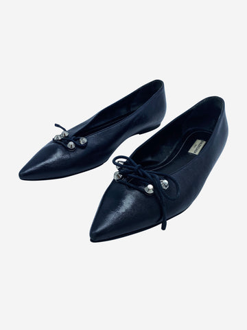 Navy Balenciaga Shoes, 7