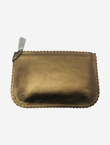 Bronze 'Coffee Coins' large coin purse wallet