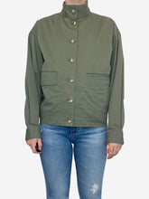 Load image into Gallery viewer, Khaki denim jacket - size M