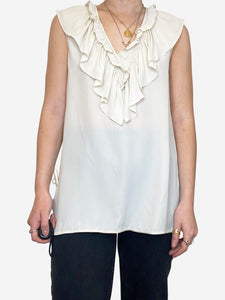 Marni Cream Marni Blouse, 10