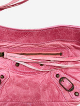Load image into Gallery viewer, Pink motorcycle city mini clutch