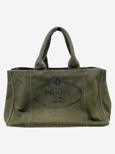 Load image into Gallery viewer, Dark Green Prada Handbags