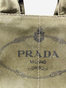 Prada Dark Green Prada Handbags