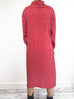 Vanessa Seward Patterned Midi Dress Size 12 RRP £395 Vanessa Seward - Timpanys