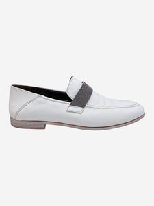 Brunello Cucinelli White Brunello Cucinelli Shoes, 5