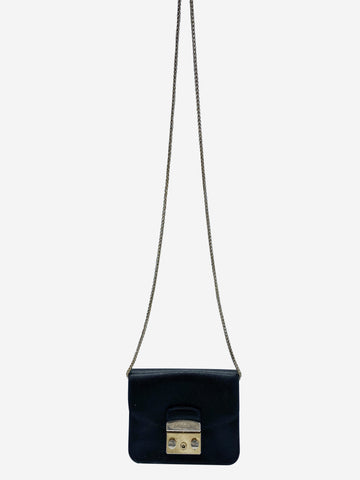 Black mini Metropolis crossbody bag