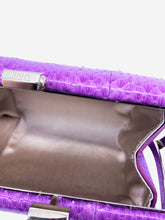 Load image into Gallery viewer, Purple Jimmy Choo Clutch