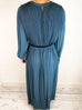 Catherine Hammel Blue Pleated Long Dress Size S Catherine Hammel - Timpanys