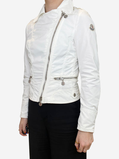 White Moncler Jacket, XXS