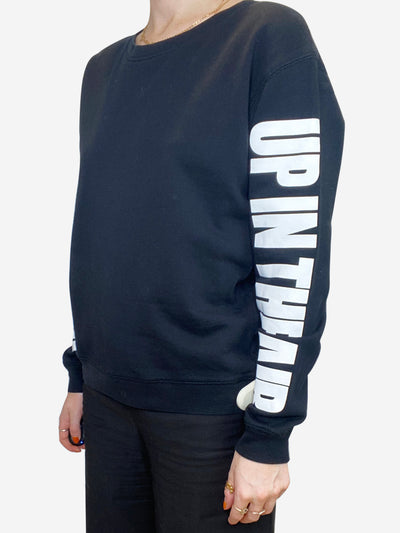 Black 'Up in the Air' sweater- size S