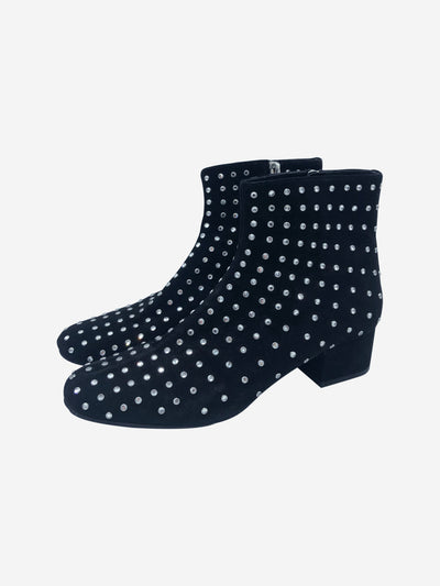 Black Saint Laurent Boots, 6