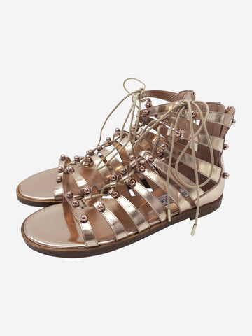 Rose gold Jimmy Choo Sandals, 6